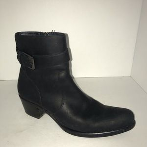 Cole Haan Leather Heeled Ankle Boots